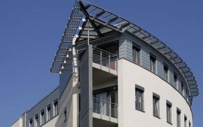 Neubau von Ärztehaus Praxis- und Archivräumen