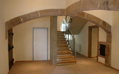 Burganlage Dudeldorf Sanierung und Umbau für gemeindliche Zwecke