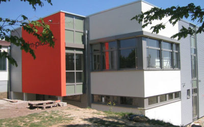 Erweiterung eines Betriebsgebäudes in Dudeldorf