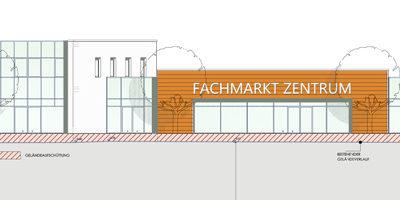 Neubau eines Zentrums für Gewerbe und Dienstleistung in Prüm