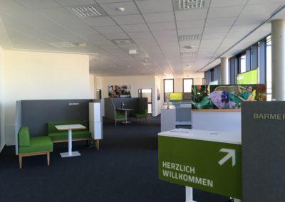 Innenausbau einer Krankenkasse in Bitburg