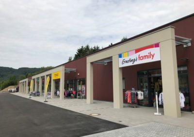Bau eines Fachmarktzentrums Irrel