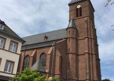 Sanierung der Pfarrkirche Speicher