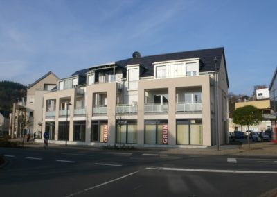 Neubau eines Wohn- und Geschäftshauses in Irrel