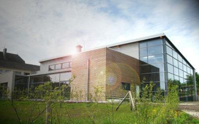 Neubau einer Mehrzweckhalle für Vereine, Schule und Gemeinde in Preist