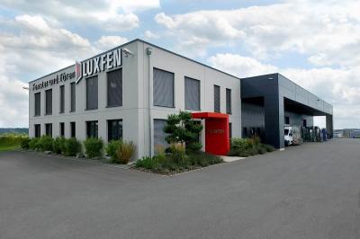 Neubau eines Lager-, Büro und Ausstellungsgebäudes