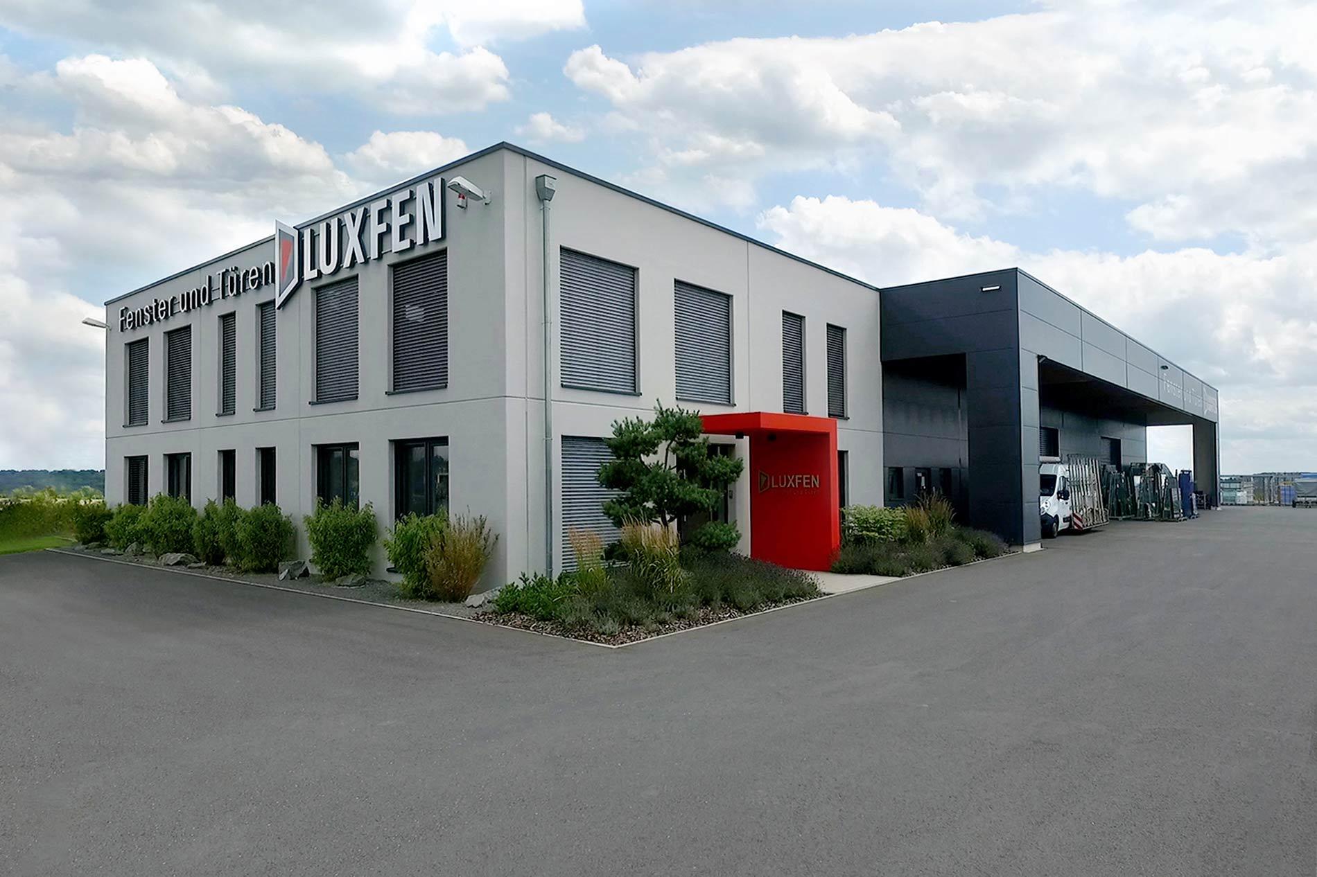 LUXFEN Lager-, Büro und Ausstellungsgebäudes