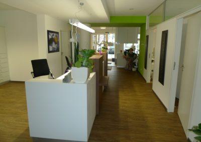 Innenausbau einer Arztpraxis in Bitburg