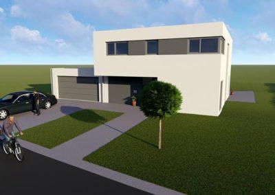 Neubau eines Wohnhauses in Idenheim