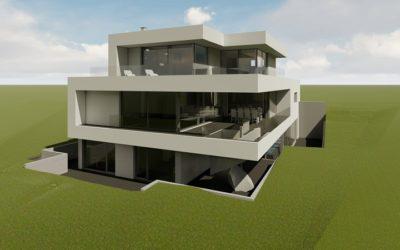 Neubau eines Wohnhauses in Bitburg