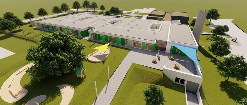 Neubau Kindertagesstätte in Speicher