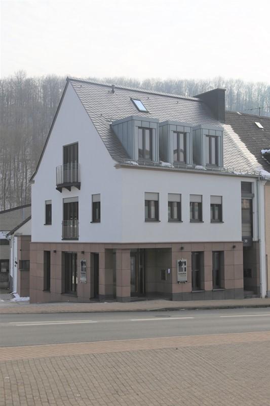 Neubau eines Wohn- und Geschäftshauses in Prüm