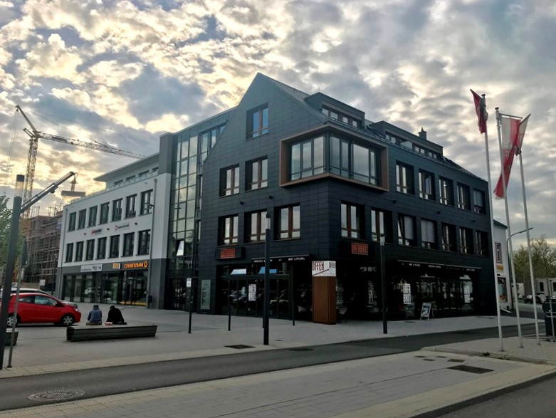 Neubau eines Geschäftshauses